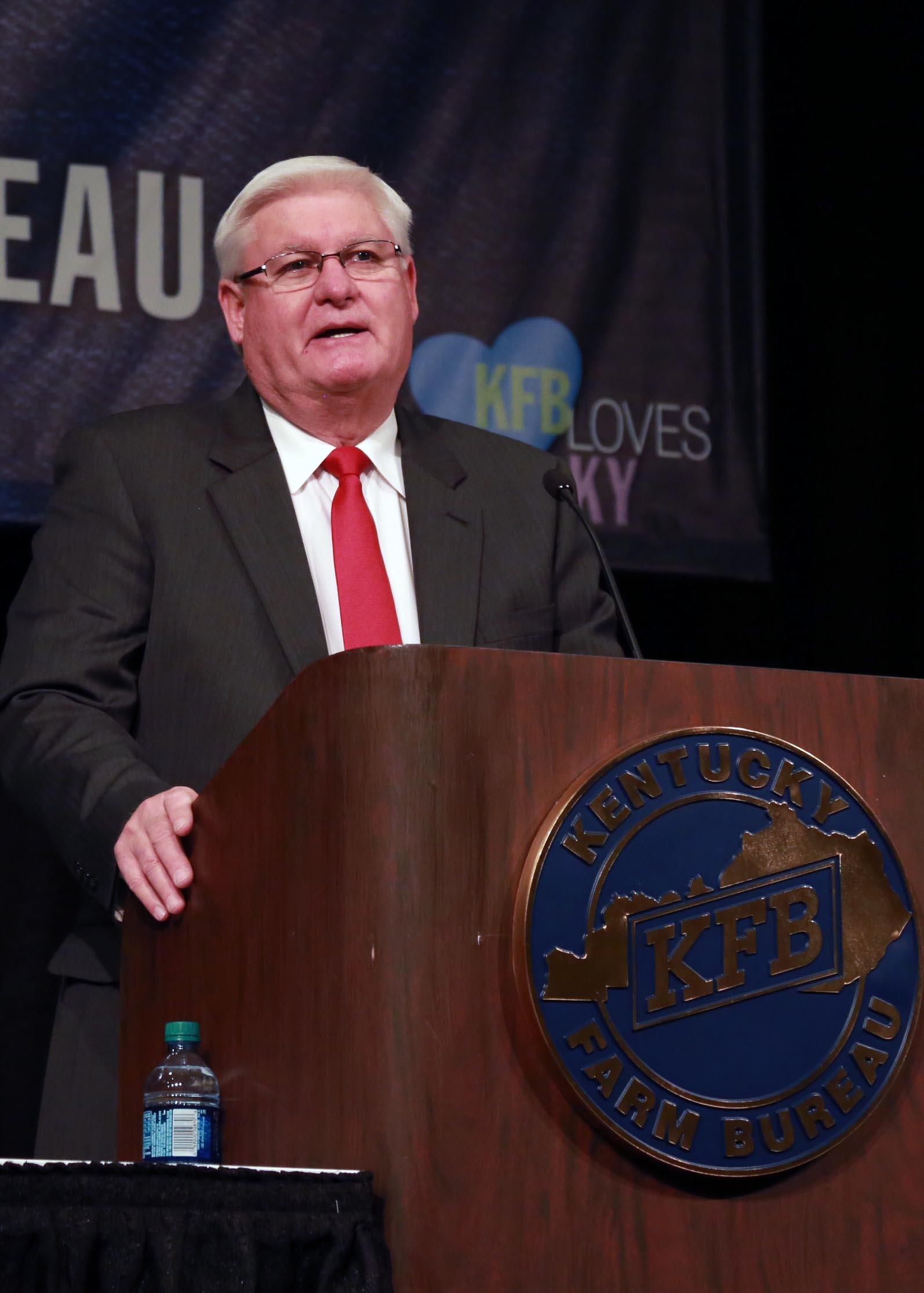 Mark Haney, President of Kentucky Farm Bureau