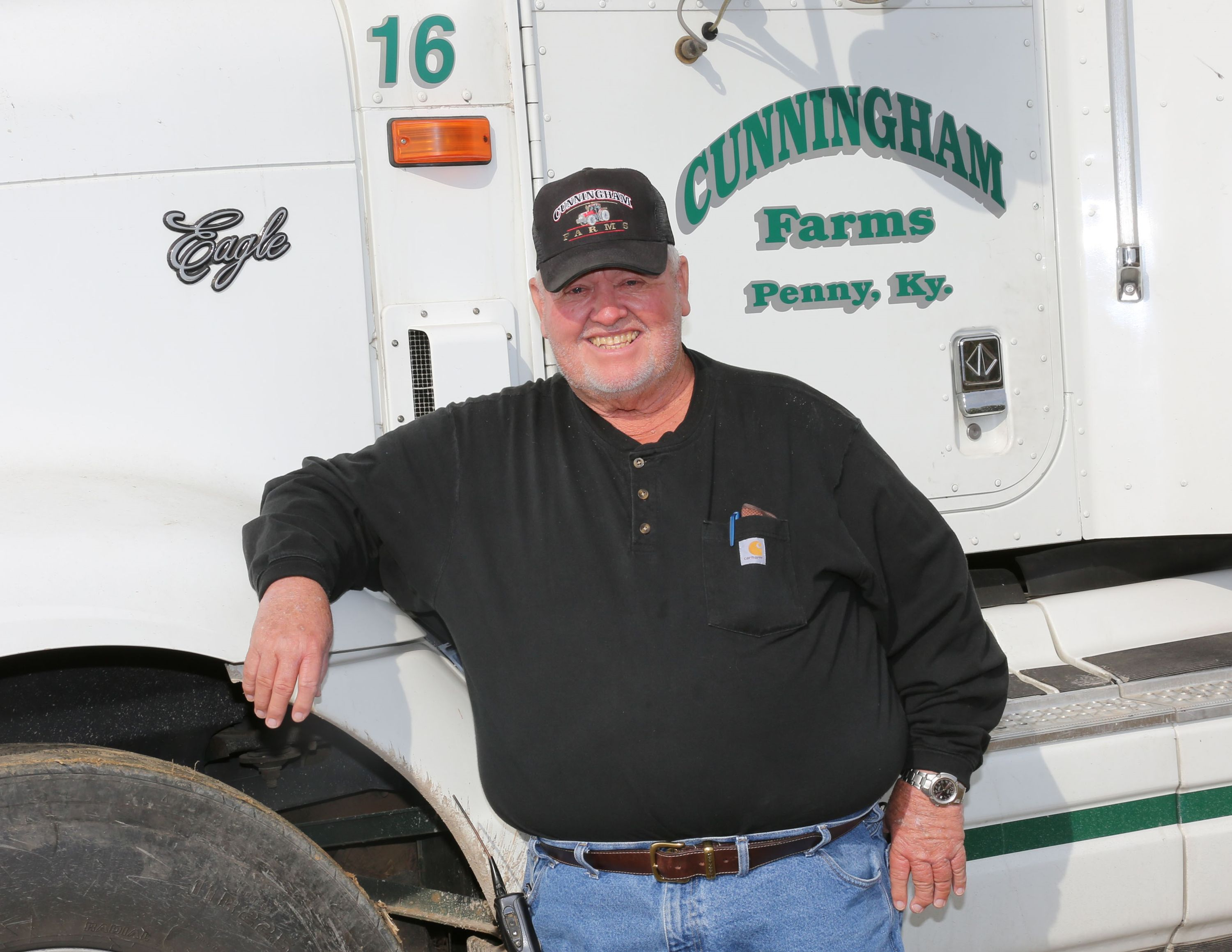 Danny Cunningham of Calloway County, the KFB 2018 Farmer of the Year