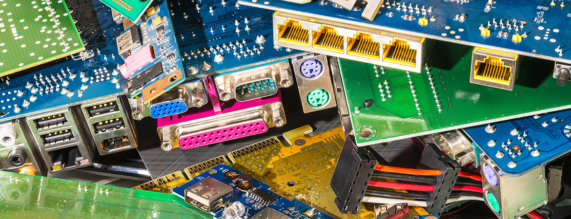 Used or obsolete electronics, often referred to as e-scrap, can contain hazardous components that are detrimental to human and environmental health, and they need to be dealt with safely.