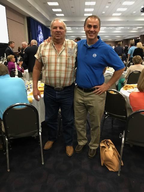 Ray Sammons, President Boyd County Farm Bureau and Bryan Carroll, Agency Manager Boyd County Farm Bureau.