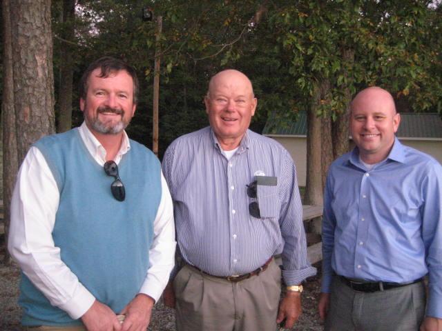 Doug Wilson, Young Farmer Chair; David Campbell, State Board of Directors; and Matt Ingram, Division Director Organization Division.