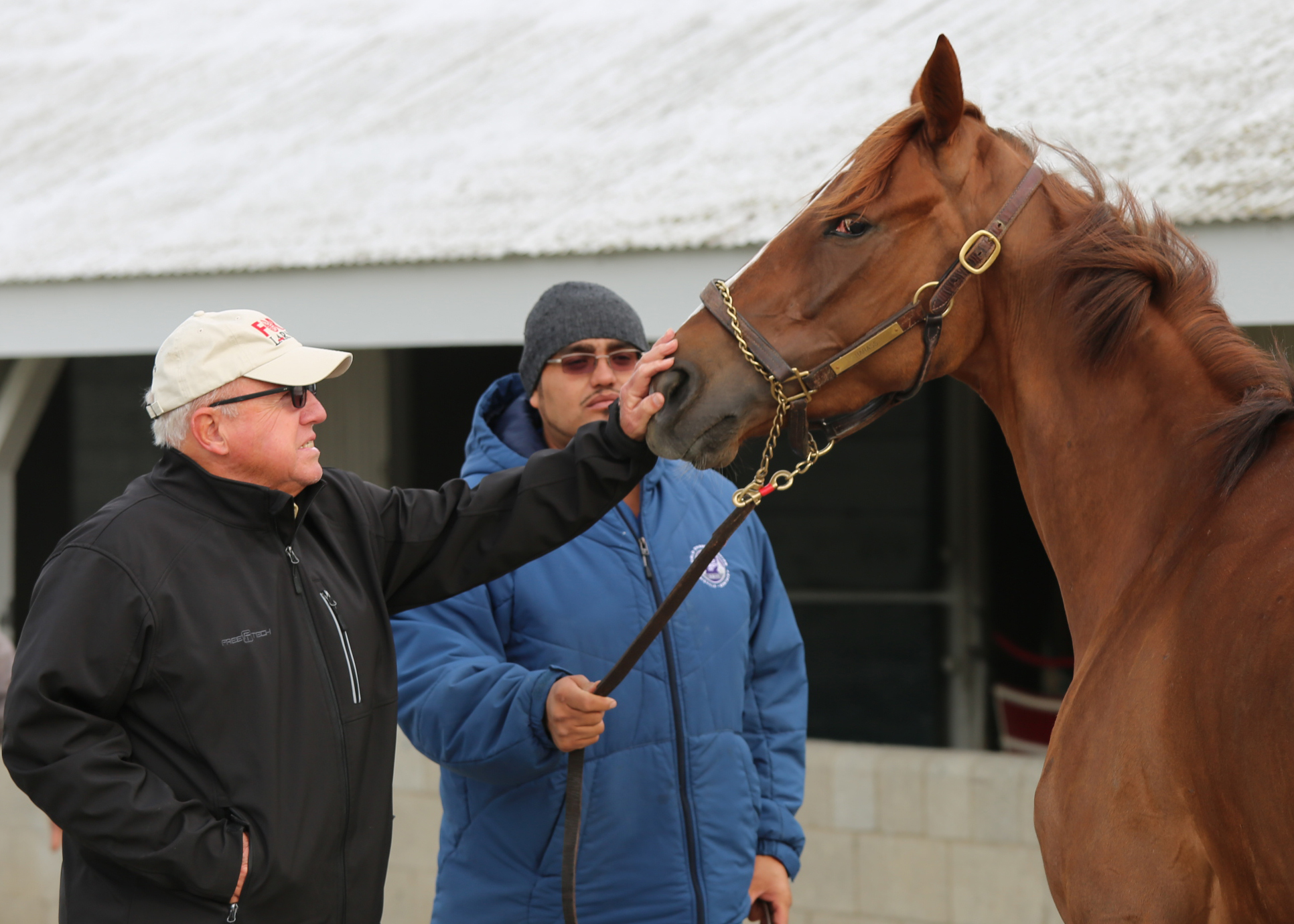 For frank penn horses and tobacco have made a great combination on frank penn works with one of his thoroughbreds at keeneland malvernweather Gallery