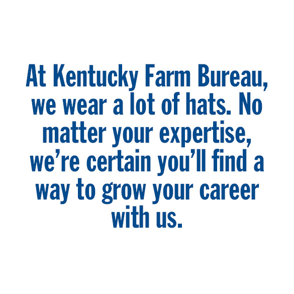Become and employee at Kentucky Farm Bureau