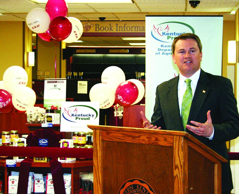 Kentucky Farm Bureau Richmond Ky  : Commissioner Comer launches Farm to Campus program in ribbon ...