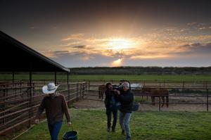 Farmland film crew
