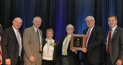 Larry Jaggers Honored for Distinguished Service to Agriculture