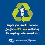 CFL bulb disposal tip 2