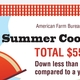 All-American July 4th Cookout Down Slightly, Remains Under $6 Per Person