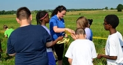 UK farm visit connects students to forages