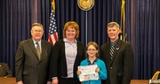 Allison Ingram and Phoebe Wagoner named winners of  2013 Conservation Writing and Jim Claypool Art Contests