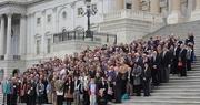 Congressional tour . . . .