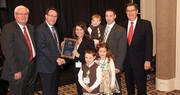Aaron and Melissa Miller win Excellence in Agriculture award