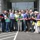 Scott County FB  celebrates new  Bevins Motor site