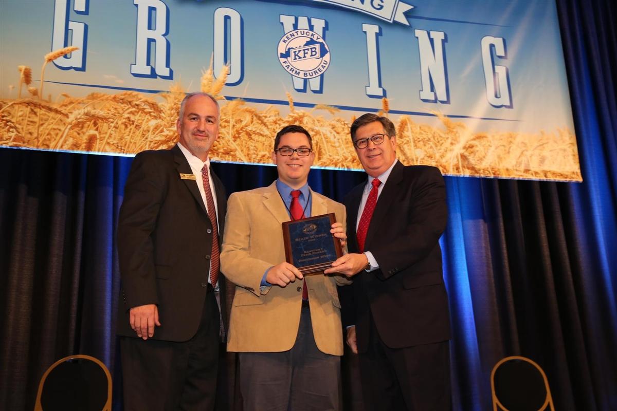 Randy Adams wins Kentucky Farm Bureau's Discussion Meet