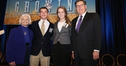 Benjamin Pinkston and Reagan Miller win Outstanding Farm Bureau Youth contest