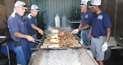 Pork perfection . . .  Kentucky Pork Producers Association fare is a hot commodity