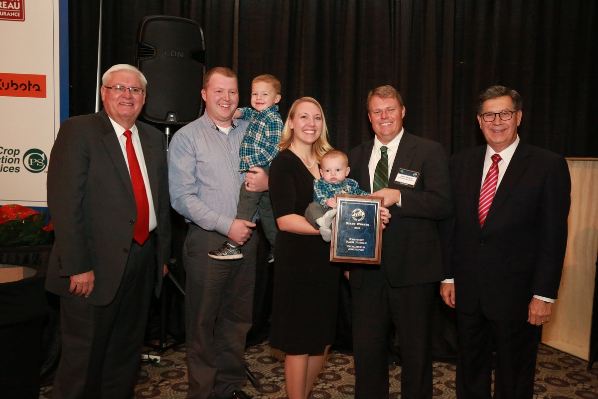 Ryan and Miranda Chaplin win Excellence in Agriculture award