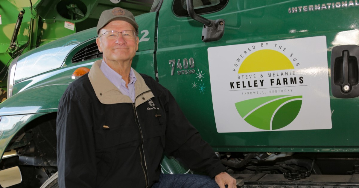 Steve Kelley Honored as the 2019 Kentucky Farm Bureau Farmer of the Year