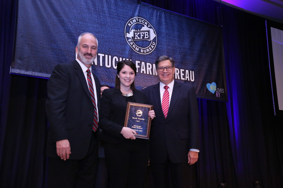 Kirby Green wins Kentucky Farm Bureau's Discussion Meet