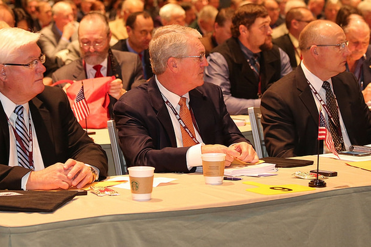 Kentucky delegates help set national agricultural policy at American Farm Bureau Federation annual convention