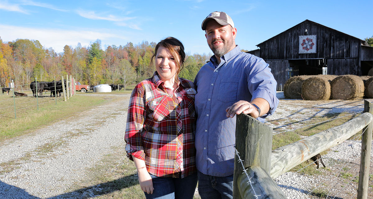 Johnson County Farm Family Making the Best of Available Resources