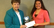 Contessa Harris receives Kentucky Farm Bureau's 2012 Excellence in Ag Literacy Award