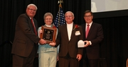 George Henderman recognized for Distinguished Service to Farm Bureau
