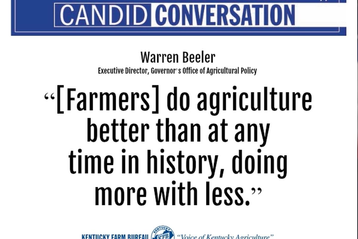 KFB Candid Conversation: Mr. Agriculture, Warren Beeler