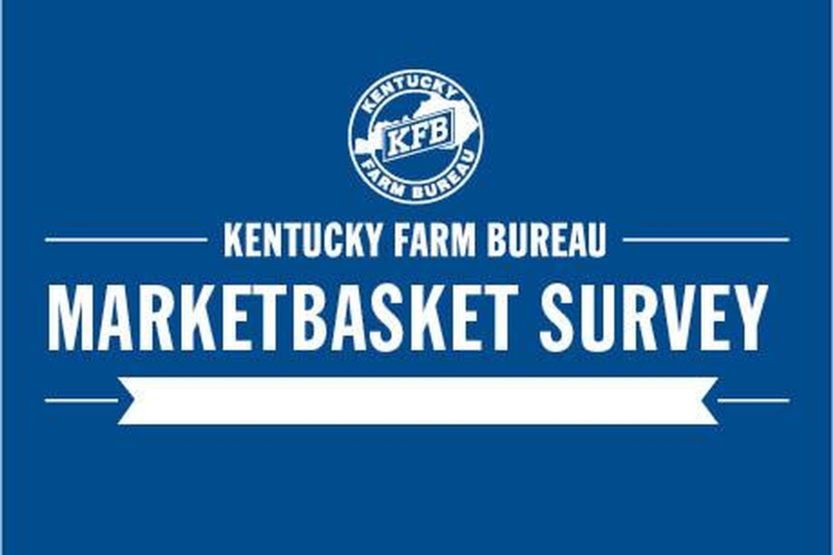 Retail food prices in Kentucky drop 7.5 percent in 2015 according to the most recent Kentucky Farm Bureau Marketbasket Survey