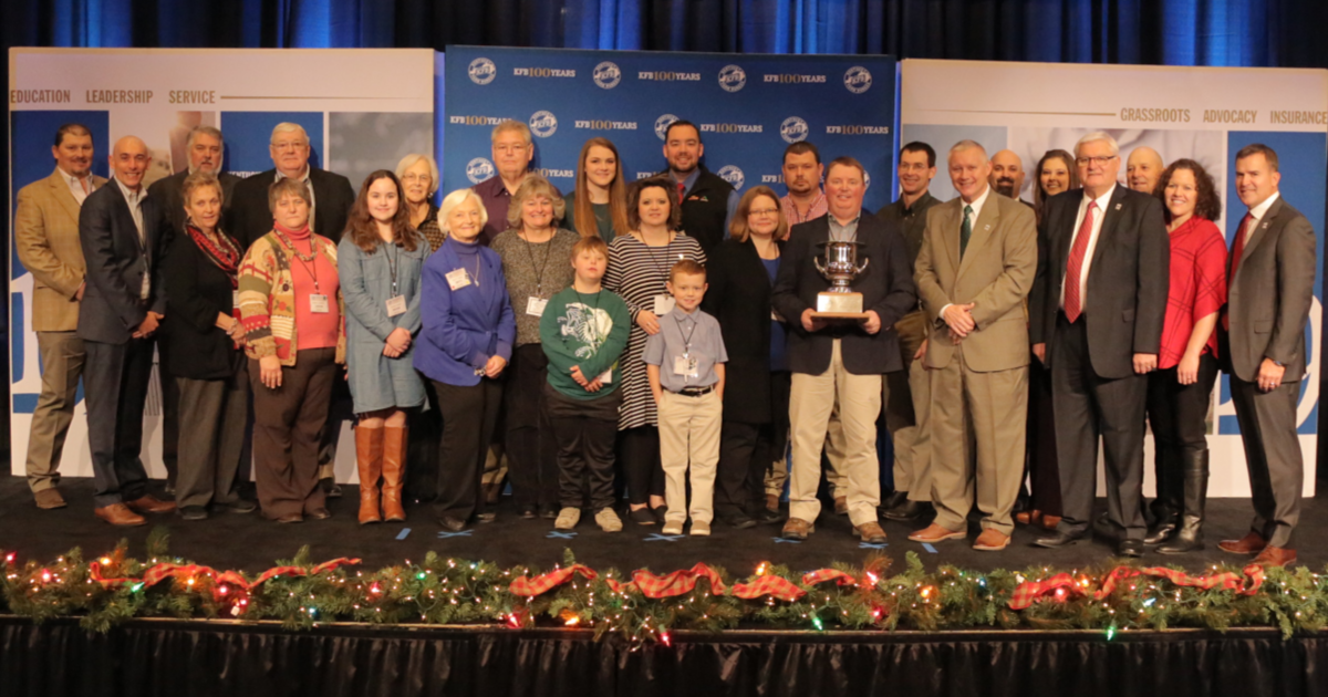 Butler County Farm Bureau Honored as Kentucky Farm Bureau's 2018